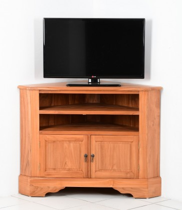 Meuble Tv D Angle Plain 2 Variantes De Taille 105cm Nombre De Niches 2 Niches